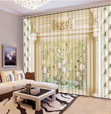 luxus wohnzimmer vorhänge elegante weiche säule vorhänge foto 3d vorhänge für wohnzimmer schlafzimmer