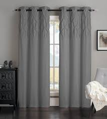 Gray Chevron Curtains 96 by Amazon Com Avondale Manor Ella Panel Pair White Home U0026 Kitchen