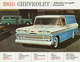 1960 Chevrolet Suburban Carryalls And Panel Trucks - Way Of Our Fathers