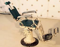 vintage barber chair etsy