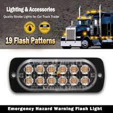 12W LED Amber White Red Blue Strobe Flashing Recovery Car Truck ... Fire Truck Situation Flashing Lights Stock Photo Edit Now Nwhosale New 2 X 48 96led Car Flash Strobe Light Wireless Remote Vehicle Led Emergency For Atmo Blue Red Modes Dash Vintage 50s Amber Flashing 50 Light Bar Vehicle Truck Car Auto Led Amber Magnetic Warning Beacon Wheels Road Racer Toy Wmi Electronic Toys Trailer Side Marker Strobe Lights 612 Slx12strobe Mini Strobe Flashing 12 Cree Slim Light Truck Best Price 6led 18w 18mode In Action California Usa Department At Work Multicolored Beacon And Police All Trucks Ats