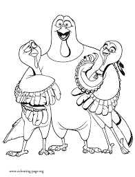 Jake Reggie And Jenny Coloring Page