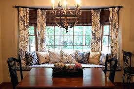 Dining Room Drapes Ideas How To Solve The Curtain Problem When You Have Bay Windows With