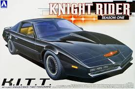 Aoshima 41277 1 24 Knight Rider Season 1 KITT Knight Industries Two ...
