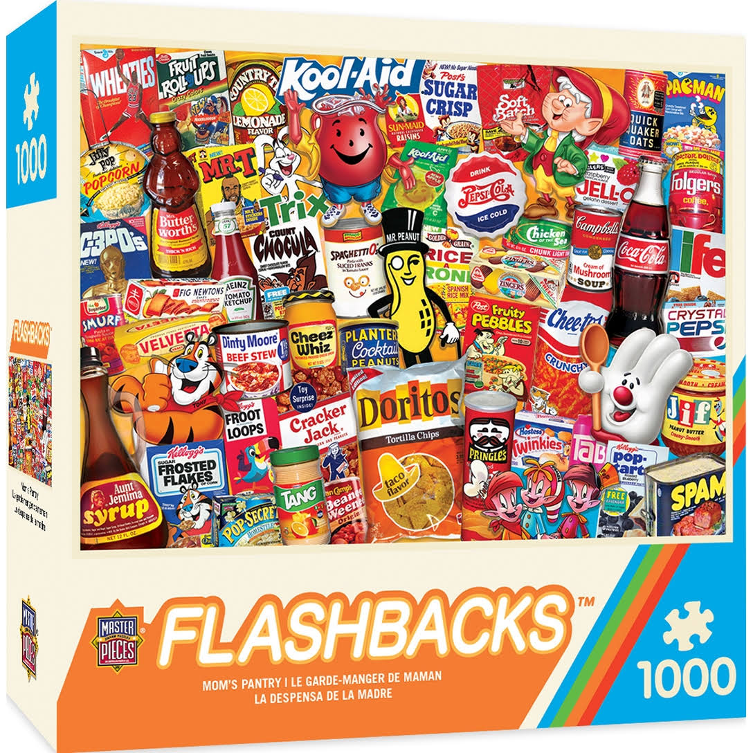 Masterpieces Flashbacks Mom's Pantry Jigsaw Puzzle - 1000pcs