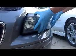 volvo s40 v50 headlight low beam replacement