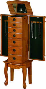 Furniture: Keep You Treasured Jewelry Safe And Secure With Kohls ... Bedroom Awesome Country Style Jewelry Armoire Locking Antique Armoires Ideas All Home And Decor Fniture Black With Key And Lock For Home Boxes Light Oak Jewelry Armoire Ufafokuscom Amazoncom Collage Photo Frame Wooden Wall Powell Mirrored Abolishrmcom Organize Every Piece Of In Cool Target Inspiring Stylish Storage Design Big Lots