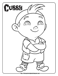 Disney Coloring Pages And Sheets For Kids Jake The Neverland Pirates Free