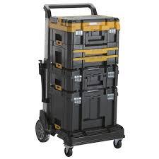 DeWalt DWST1-70706 TSTAK IV Tool Storage Box With 2x Shallow Drawers ...
