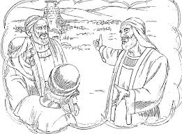 The Stone That Builders Rejected Has Now Become Cornerstone Luke Parables Of Jesus Coloring Pages