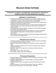 Template Sample Nursing Student Resume Templates Fo