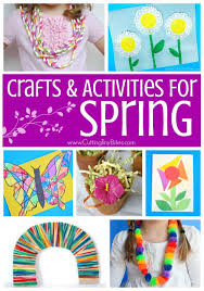 Favorite Spring Crafts And Activities For Kids Fun Collection Of Fine Motor Process