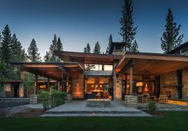 100 Mountain Home Architects Modern Home In Martis Camp With Indooroutdoor