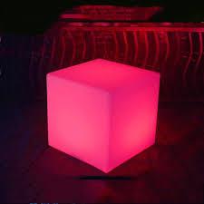 ge yobby led licht cube hocker farbwechsel hocker