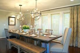 What Size Chandelier For Dining Room Transitional August Of Related Post