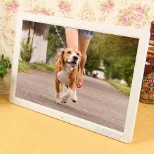 17 1080p led grand écran haute résolution cadre photo numérique