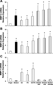 Shedding Uterine Lining During Period by Increased Mmps Expression And Decreased Contraction In The Rat