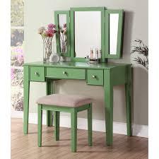 Corner Bedroom Vanity by Furniture Large Modern Makeup Vanity Dressing Table With Glass Top