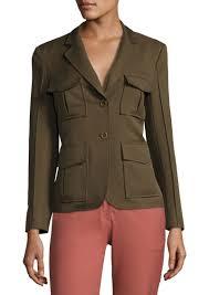 theory theory lackman prospective safari jacket outerwear shop