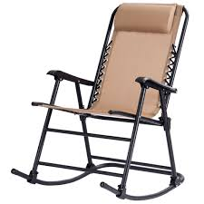 Costway Folding Zero Gravity Rocking Chair Rocker Porch Outdoor Patio  Headrest Beige Redwood Adirondack Rocking Chair Durable Wooden Rocker Sunnydaze Patio Cast Iron Cstruction With Percy Bluerise 3 In 1 Beach Lounger Chaise Easily Rockingchair Pong Blackbrown Robust Glose Dark Brown Chair Ikea Plantation Cushions Zuma Series 13h Seat And Chrome Frame Navy 1575w X 1712d 2137h Hand Crafted Comb Back Windsor By Luke A Barnett Birch Veneer Black