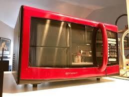 Emerson 900 Watt Microwave W Red Also Mod Appliances In