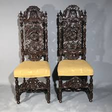Jacobean Style Oak High Back Chairs - Antiques Atlas High Back Antique Oak Morris Recling Chair Claw Feet Oak Framed Throne Chair Danish Homestore Wheat Ding Chairs Star Wars Bean Bag Costway With Cross Set Of 2 Solid Wooden Frame Style Side For Kitchen Rooms Rattan Seat A Pair 19th Century Hall In The Jacobean Charles Ii Single C1680 B3771 La41504 Vintage Rocker Press Cane Baby Empoto Childs Rush Coaching Settle Carved Renaissance Throne Victorian And