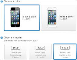New iPhone 5 Pre Orders Pushed to 3 4 Week Lead Time
