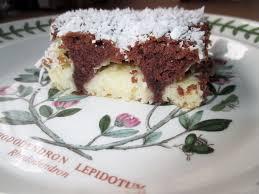 schokolade kokos kuchen