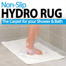 Bathtub Mat No Suction Cups by Hydro Rug Non Slip Rug Bath Rugs As Seen On Tv Store