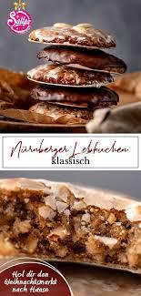 lebkuchen rezept nürnberger lebkuchen klassisch