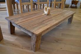 Reclaimed Teak Wood Table