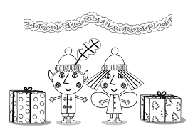 Little Kingdom Christmas Coloring Pages