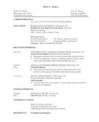 Good Resume Sample Objective Statements Career Objectives