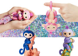 New Fingerlings Glitter Monkeys With Blanket From Amazon 2017