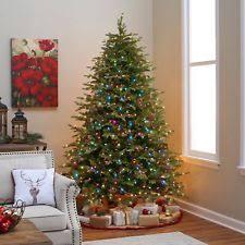 Slim Pre Lit Christmas Tree 75 by Pre Lit Christmas Trees Ebay