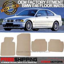 1987 1992 bmw 3 e30 convertible beige tan floor mats 4pc carpet