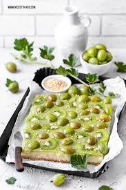 Glutenfreier Kuchen Rezept Ohne Nã Sse Stachelbeerkuchen Mit Kiwi Vegan Kalorienarm Glutenfrei