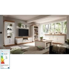 komplett set wohnzimmermöbel 61 landhaus stil in pinie weiß
