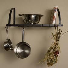 Furniture Hanging Pot Rack Unique Ideas For Hanging Pots And Pans