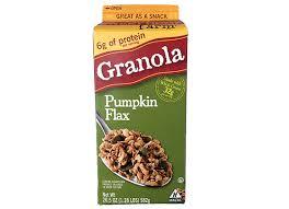 Pumpkin Flaxseed Granola Nutrition Info by Sweet Home Farm Granola Pumpkin Flax Signature Market