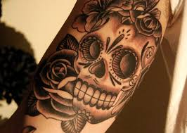Mexican Traditional Creative Tattoos Women 3D