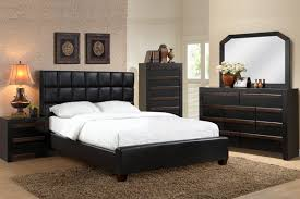 Black Leather Headboard Bed by Black Leather Bedroom Furniture Video And Photos
