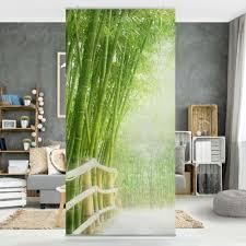 raumteiler bamboo way 250x120cm raumteiler wohnung
