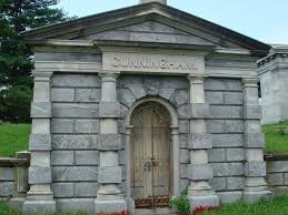 100 Sleepy Hollow House Cunningham Mausoleum Cemetary This Cold Stone