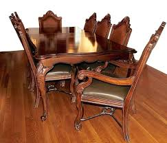 Chippendale Dining Table Style With Eight Chairs Ebay Room Set