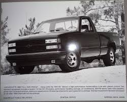 1990 Chevrolet Truck Pickup 454 SS Press Photo Brochure | EBay