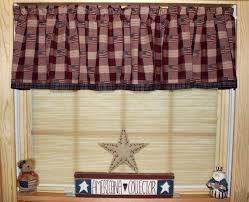 Checkered Flag Window Curtains by Country Star Kitchen Curtains Country Curtains Barn Star Window