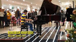 100 John Lewis Hotels Queen Bohemian Rhapsody At Oxford Street Piano Cover 11 Years Old Love Visit Explore London