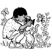 graphy clipart kid 2