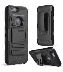 iPhone 6S Plus & 6 Plus Prime Dual Layer Holster Case with Kick